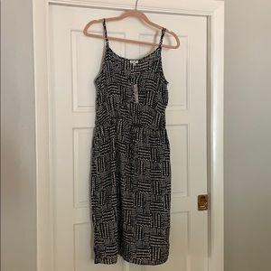 NWT Splendid Black and white sun dress